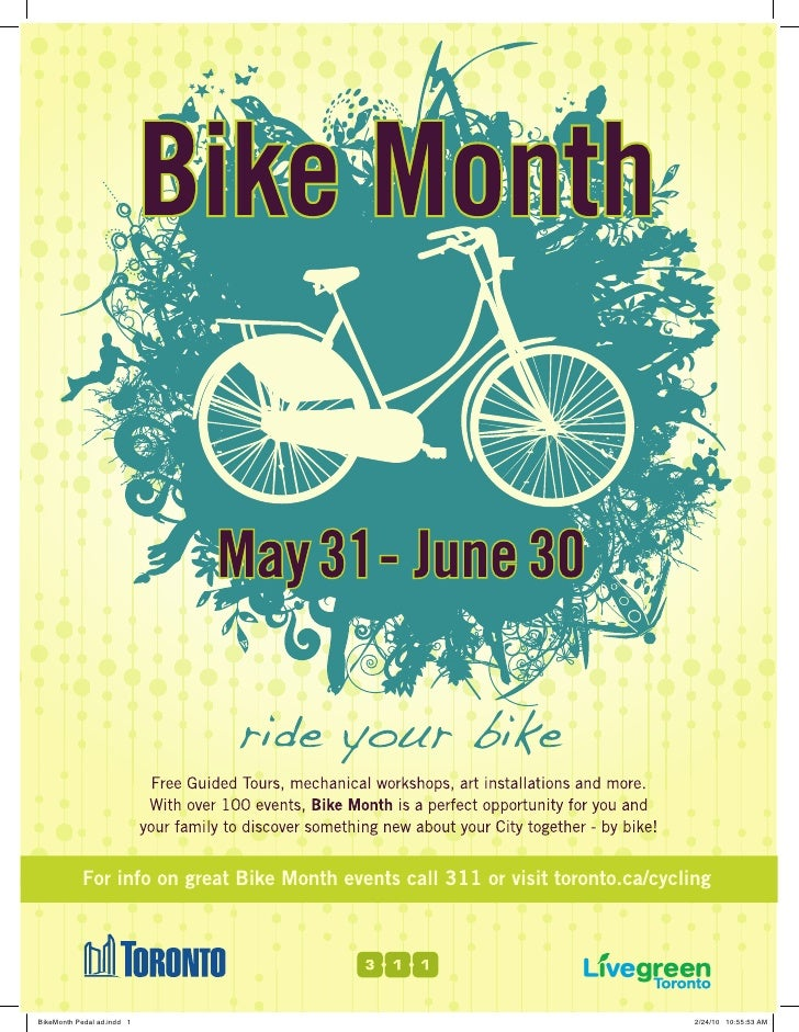 Bike Month Pedal Ad 1