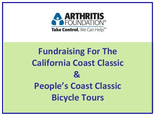 Fundraising For The California Coast Classic & People's Coast Classic Bicycle Tours