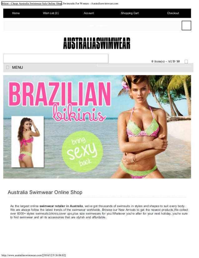 Seafolly, Australia's most recognized swimwear and women's beachwear fashion brand. Shop for the latest bikinis, one pieces, apparel and accessories online now. Seafolly.