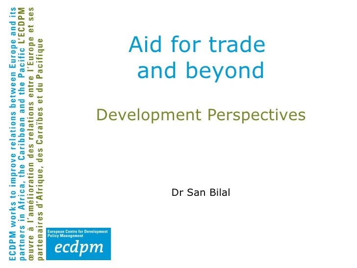 Trade and Investment for Development