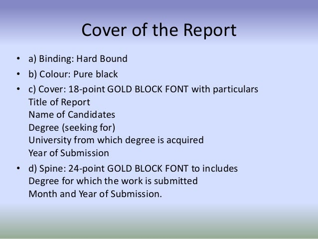 report on the thesis format guidelines for master s theses and rh arfolsaedis cba pl Project Management Reporting Templates Project Management Reporting Templates