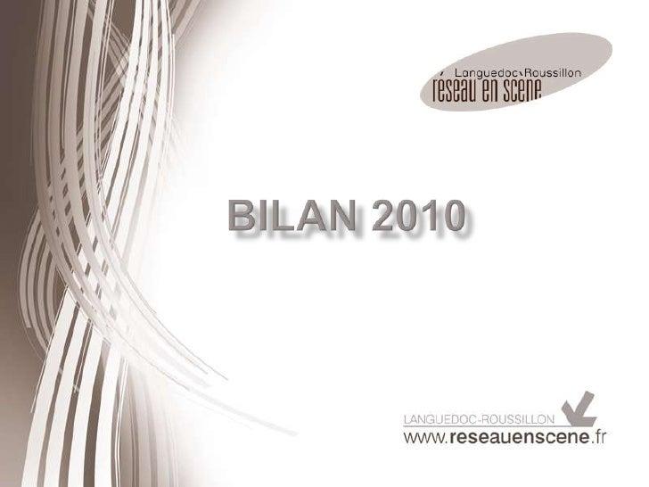 BILAN 2010<br />
