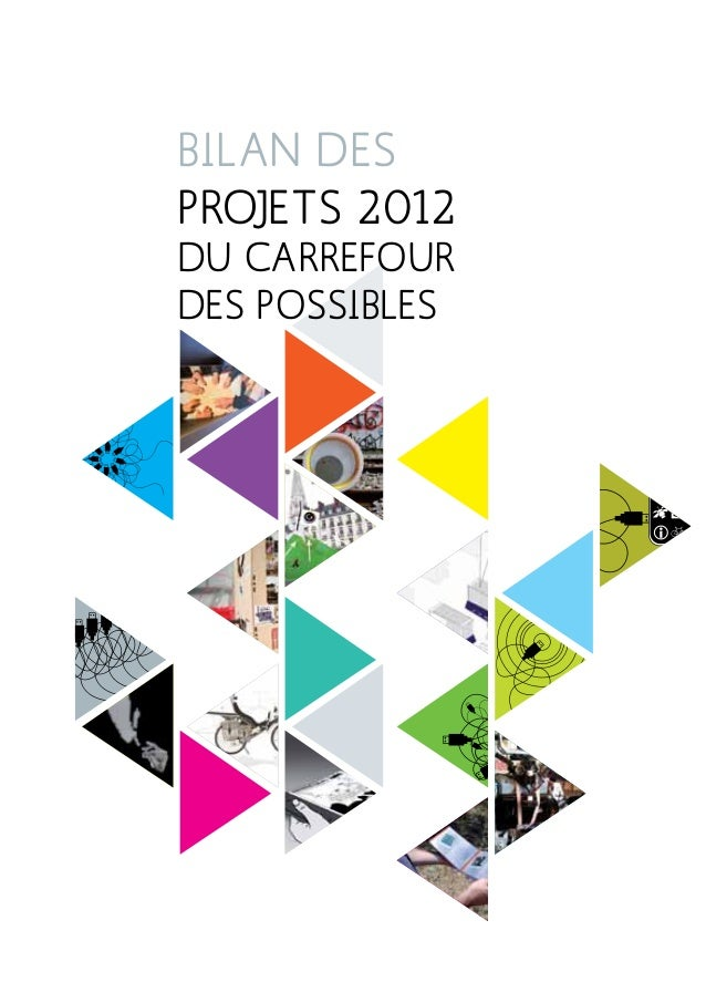 Bilan des projets 2012 du Carrefour des Possibles