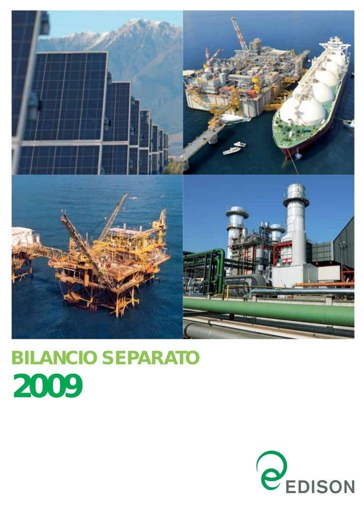 BILANCIO SEPARATO2009