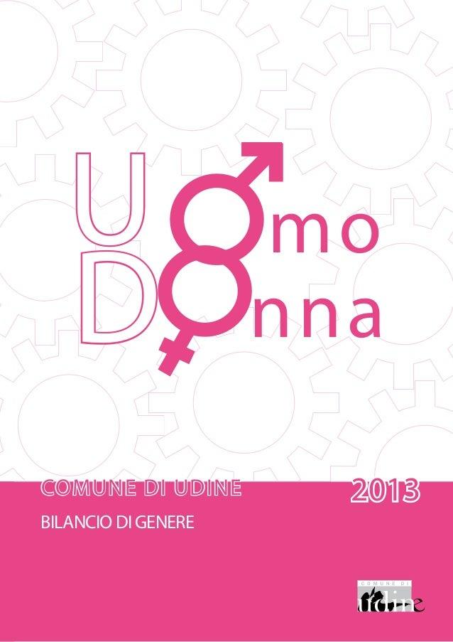 Bilancio di  genere 2013