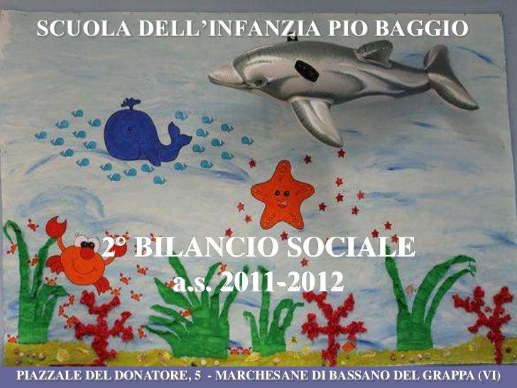 Bilancio sociale 2011-2012