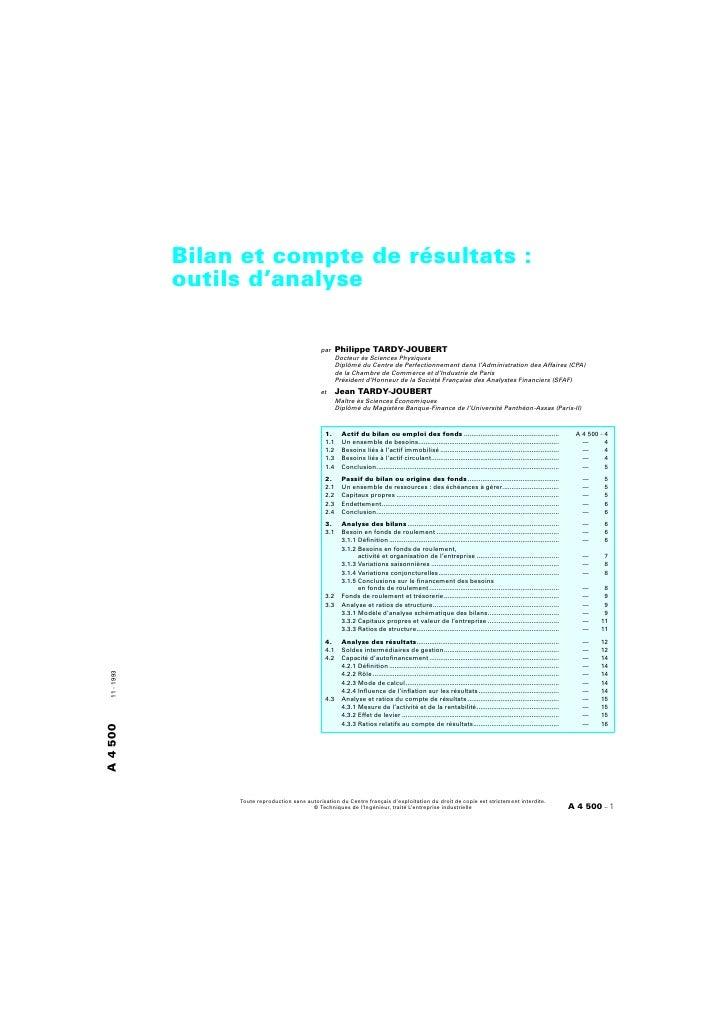 Bilan & compte_de_resultats