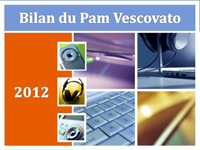 Bilan du pam de vescovato 2012
