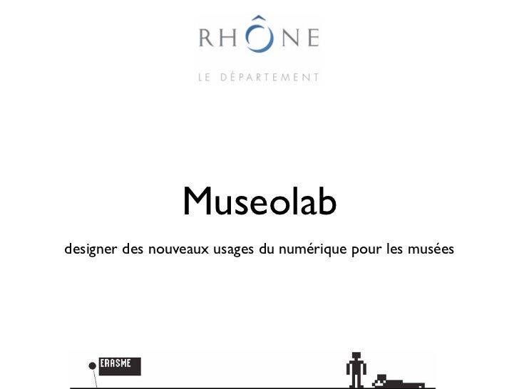 Museolabdesigner des nouveaux usages du numérique pour les musées