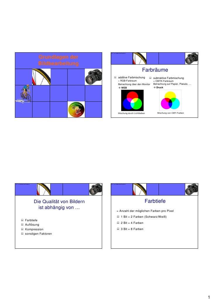 Bildbearb grundl