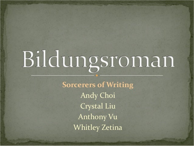 "essay on bildungsroman Bildungsroman is a genre that has been adopted from german tradition and is ""characterized by thegrowth, education, and development of a character both in the."