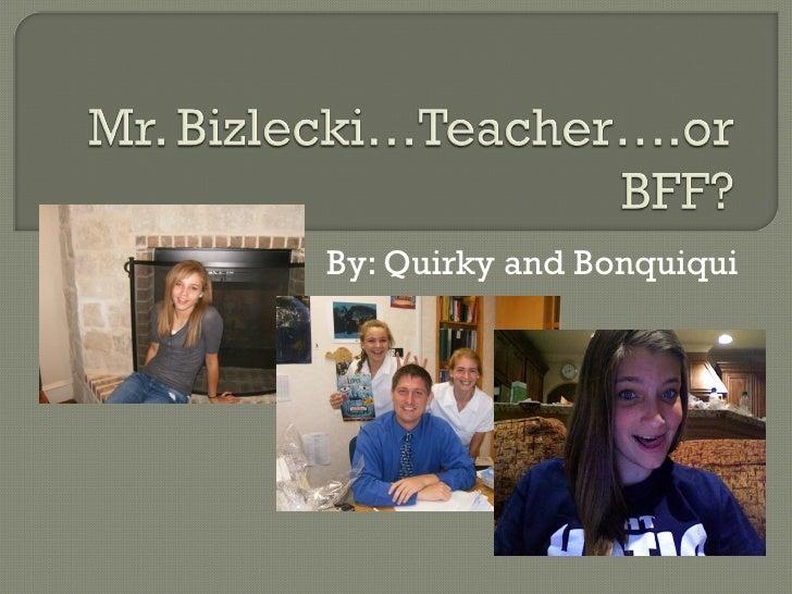 Bizlecki Bday Presentation
