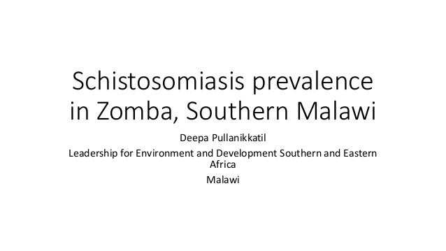 schistosomiasis case essay Guidelines, a number of case studies and review findings were presented for   to expose them to a greater risk of schistosomiasis, although adolescent boys.