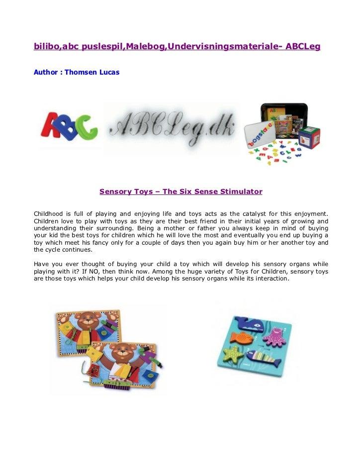 bilibo,abc puslespil,Malebog,Undervisningsmateriale- ABCLegAuthor : Thomsen Lucas                      Sensory Toys – The ...