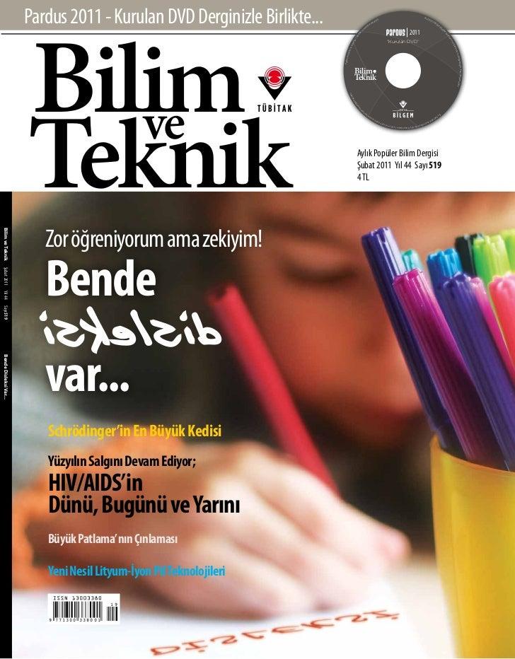 Pardus 2011 - Kurulan DVD Derginizle Birlikte...                        Bilim                                             ...