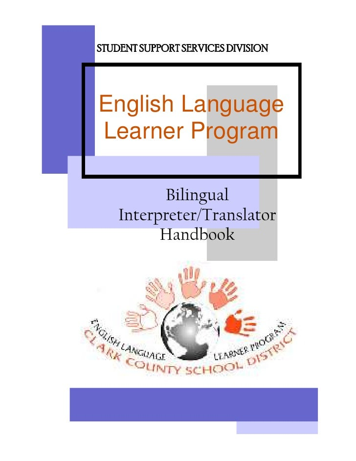 Bilingual Interpreter/Translator Handbook - Clark County School ...