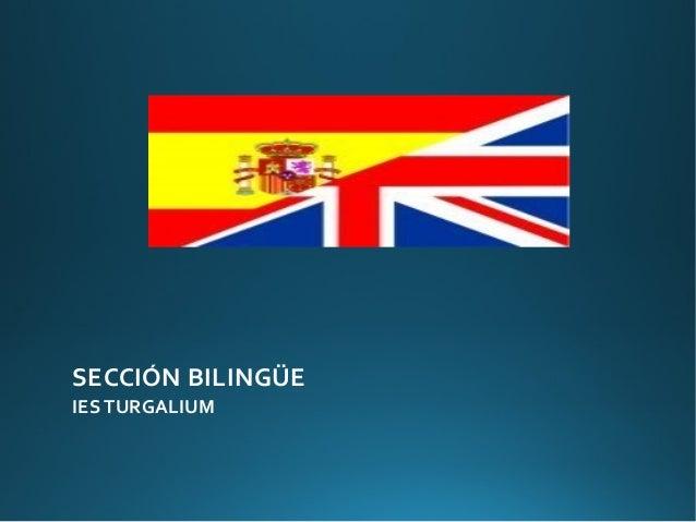 SECCIÓN BILINGÜEIES TURGALIUM