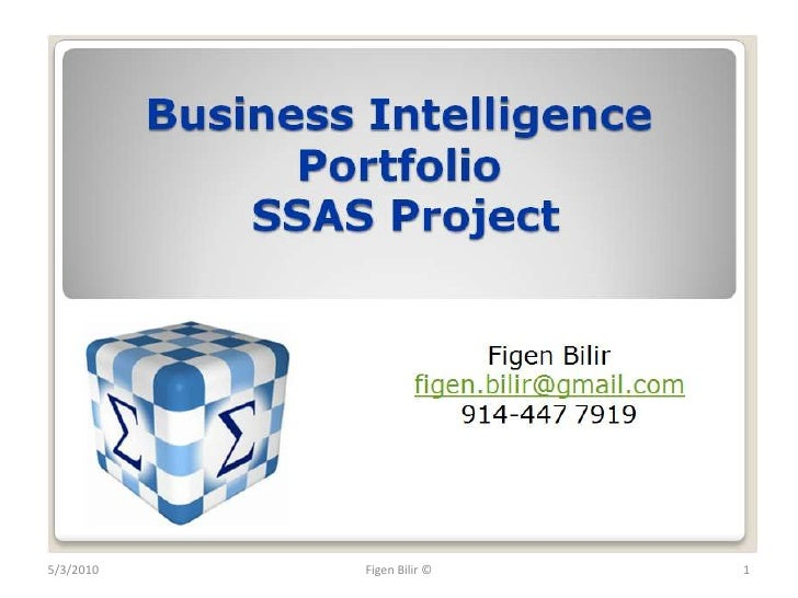 Bilir's Business Intelligence Portfolio SSAS Project