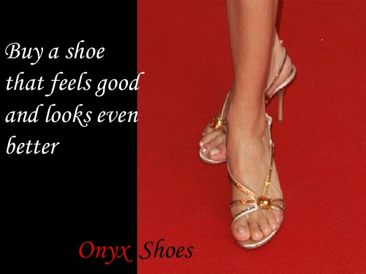 Buy a shoe that feels good and looks even better Onyx   Shoes