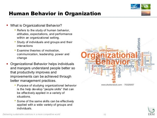 improving people skills organizational behavior