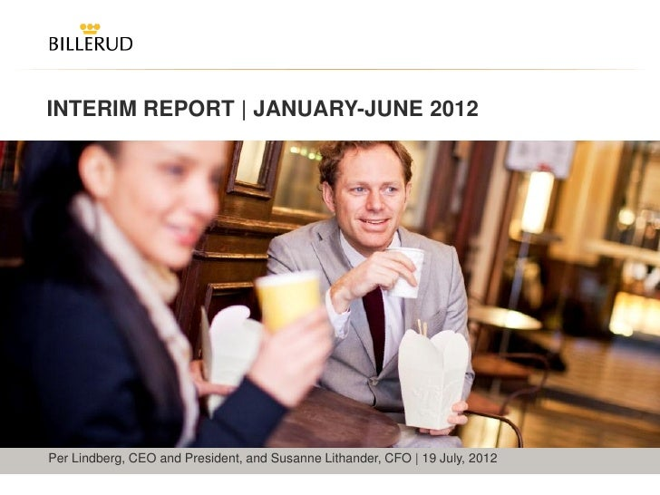 Billerud Interim Report Q2 2012 presentation