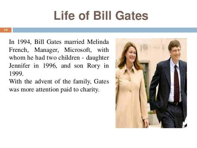 a biography of the early life of bill gates and the start of microsoft company Bill gates biography  bill showed early signs of  gates and allen wanted to start their own company, but gates.