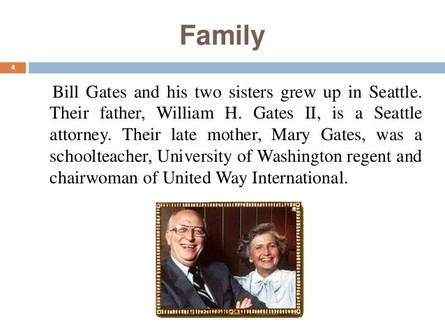 a biography of william henry gates iii the creator of microsoft William henry bill gates iii (born october 28, 1955)[4] is an american business magnate, investor, philanthropist, and author gates is the former ceo and current chairman of microsoft, the software company he founded with paul allen.