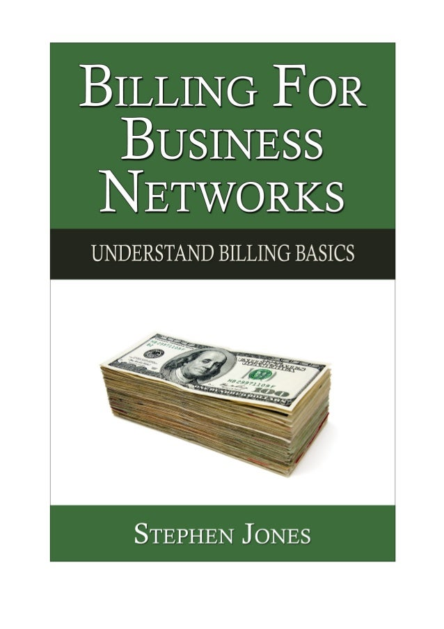 Book: Billing for Business Networks (Sample Chapters): Understanding Billing Basics