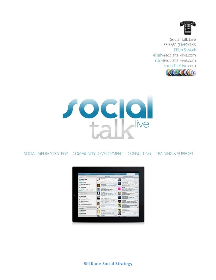 Bill Kane - Social Strategy