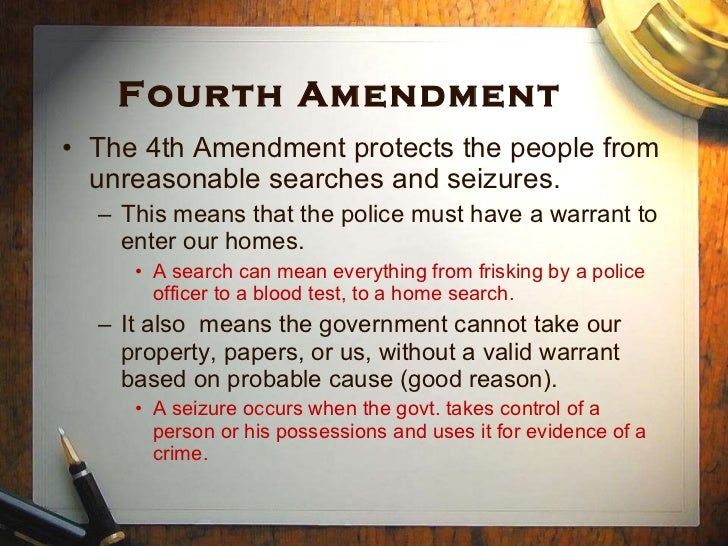4Th Amendment Essay