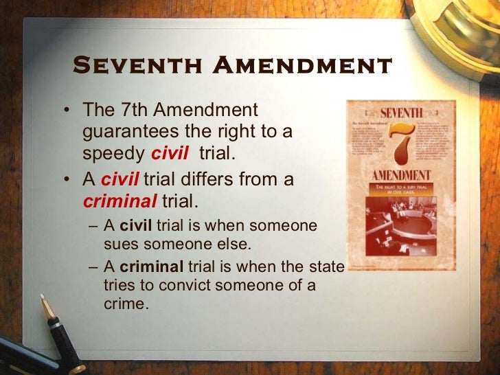 """seventh amendment Eugene volokh, """"does the seventh amendment civil jury trial right apply to the  states (and to puerto rico),"""" volokh conspiracy, aug."""