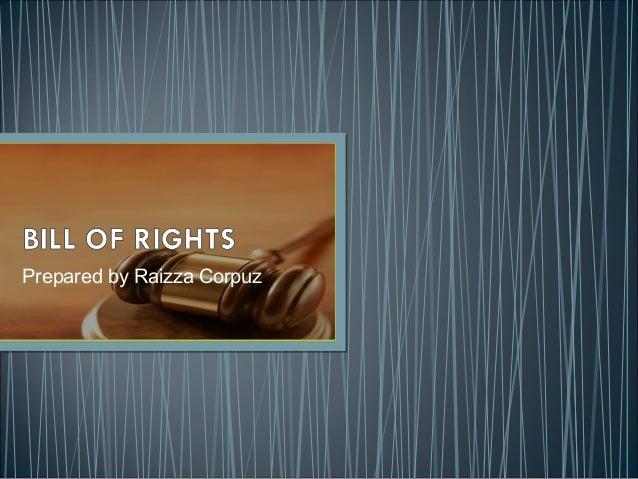 Bill of rights. MIDTERM