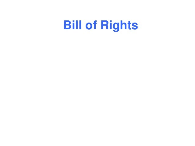 Bill of Rights ABCs