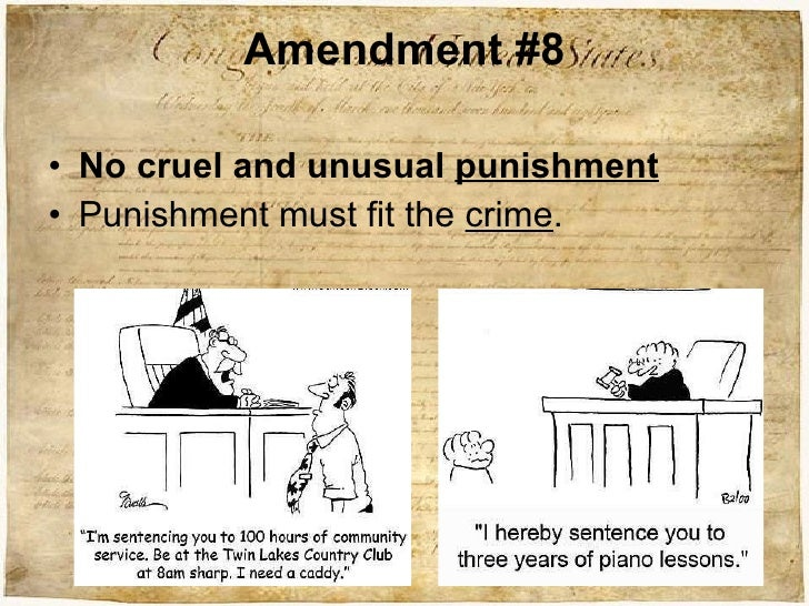 amendments essay 8 Studying the bill of rights is an important part of learning the foundation of the united states this lesson offers some essay prompts that will.