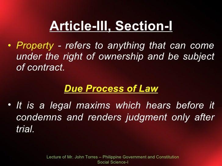 constitution articles explanation