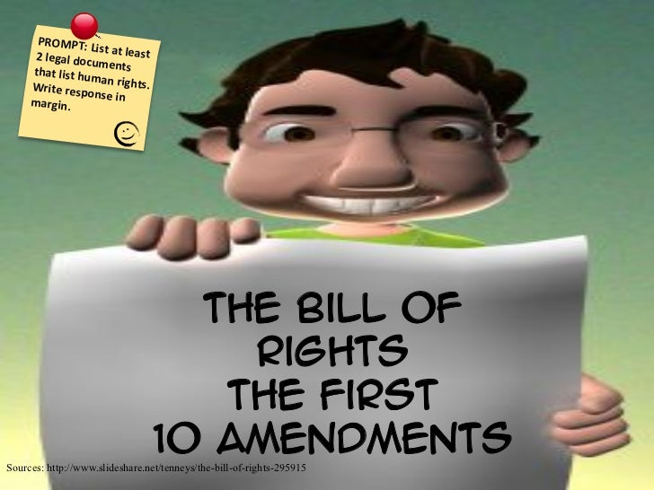 Bill of Rights Slideshow 2012