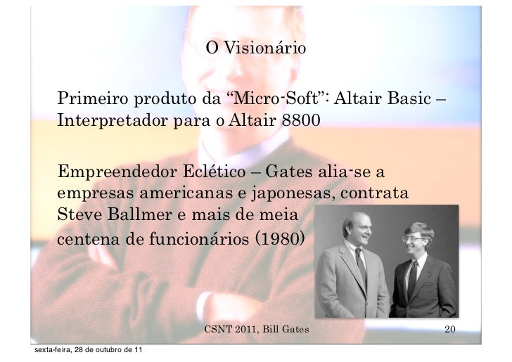 Biografia de Bill Gates - Parte 3