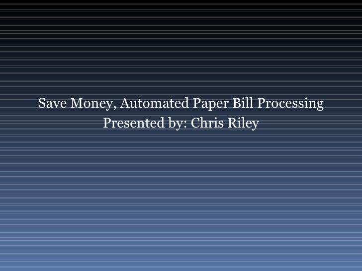 Bill Processing Webinar Short