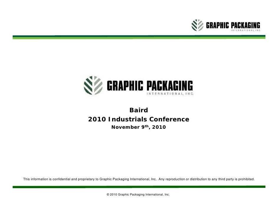 Bill Stankiewicz Copy Graphic Packaging 2011 External