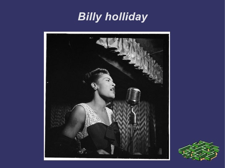 Billy holliday
