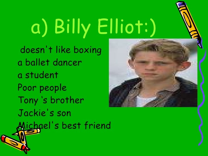billy elliot film summary Enter your location to see which movie theaters are playing billy elliot near you  billy elliot synopsis a talented boy (jamie bell) experiences family turmoil .
