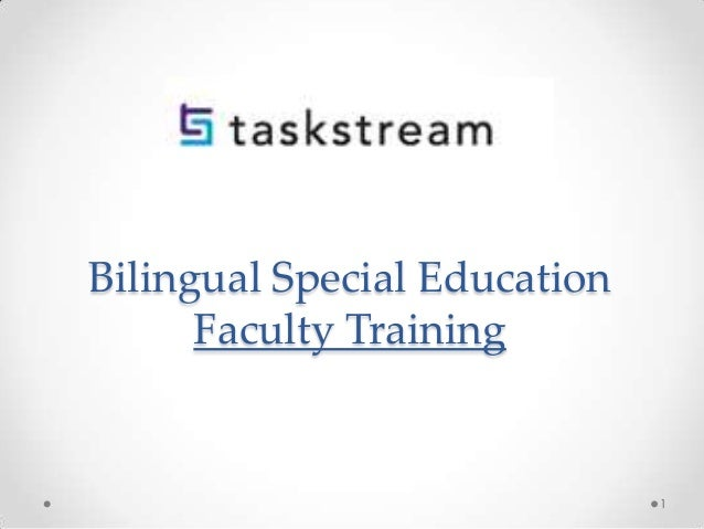 Bilingual Special Education Faculty Training 1