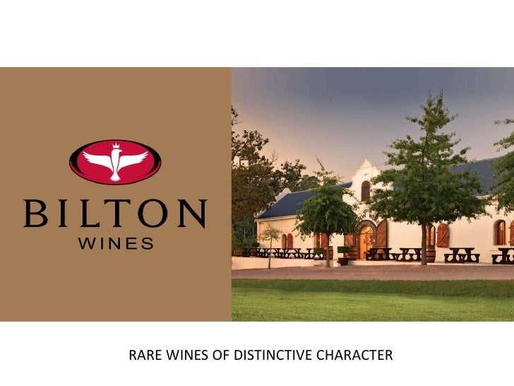 RARE WINES OF DISTINCTIVE CHARACTER<br />
