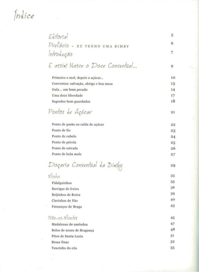 do convento para a bimby pdf