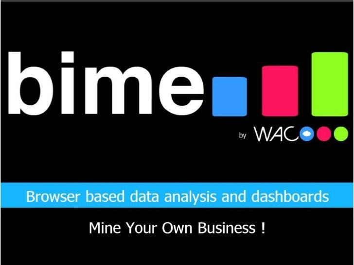Bime analytics