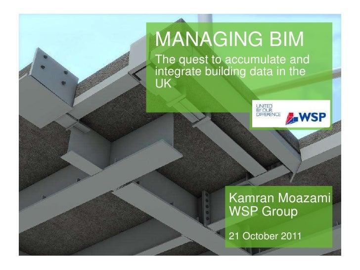 Bim presentation km 21-10-2011