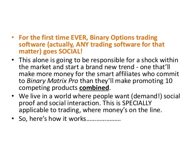 Binary options brokers list