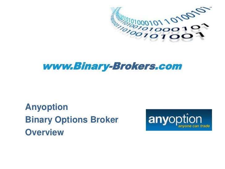 Currency options trading brokers