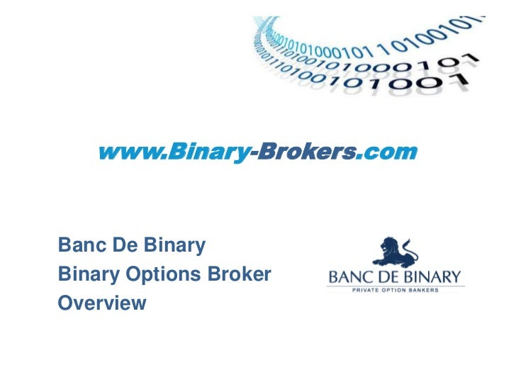 Binary options brokers review
