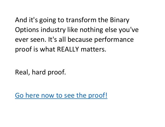 Most profitable binary options